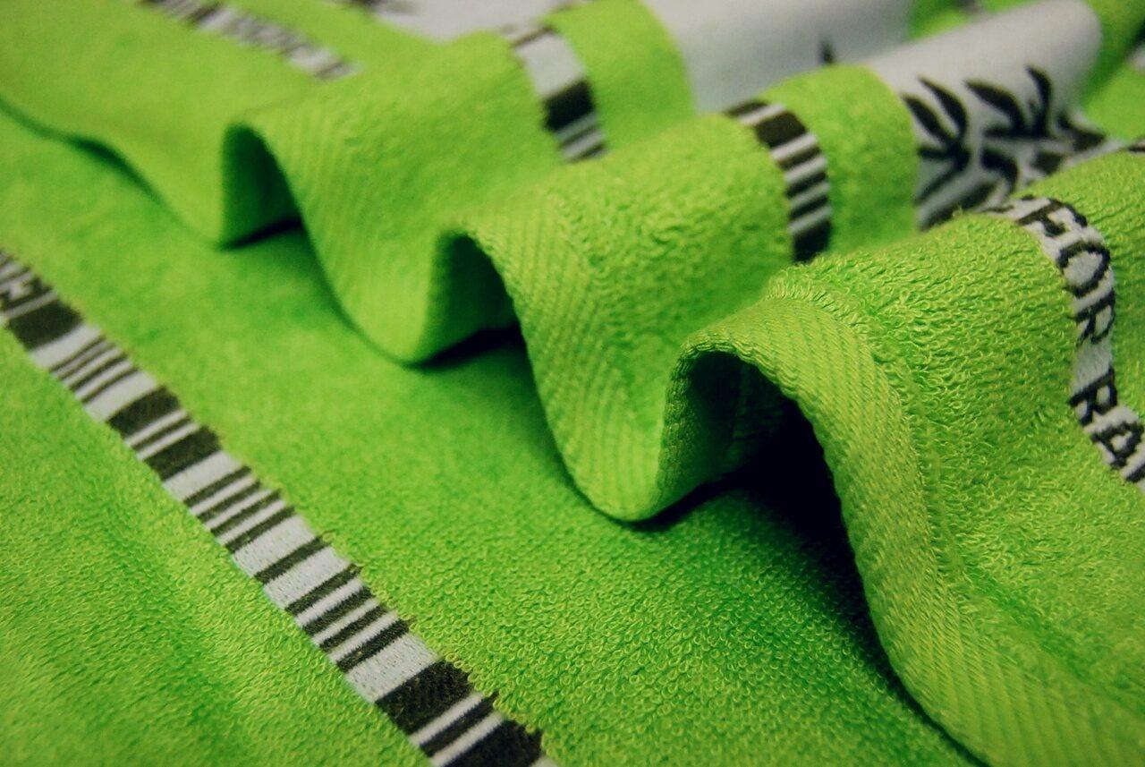 Полотенце махровое бамбук PL01